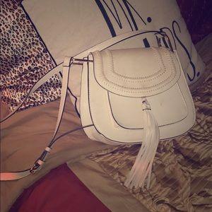 Crossbody tasseled bag